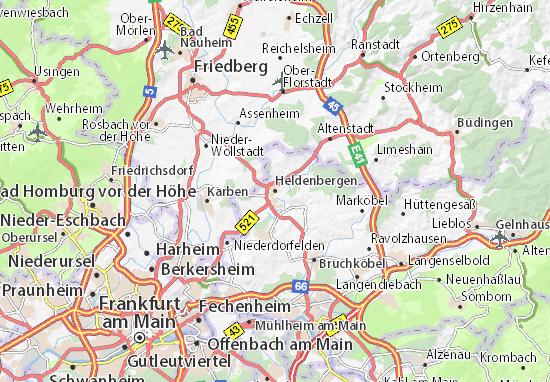 Carte-Plan Heldenbergen