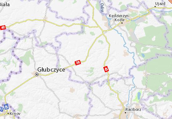 Mapa Pawłowiczki