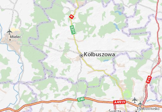 Mapa Kolbuszowa