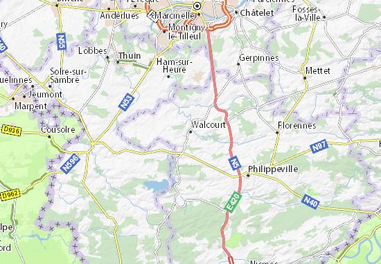 Carte-Plan Walcourt