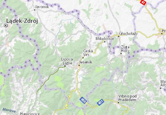 Česká Ves Map