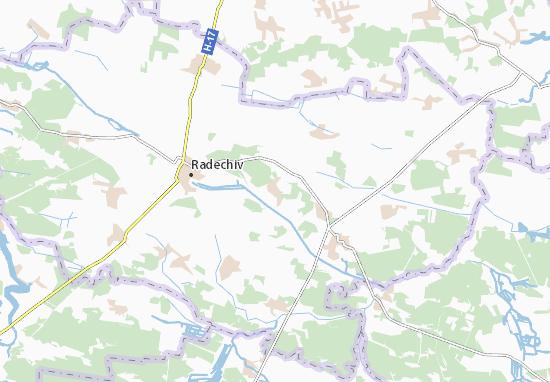 Mapa Plano Nemyliv