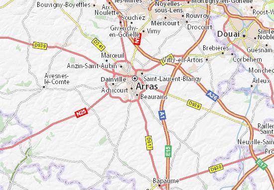 Mappe-Piantine Beaurains