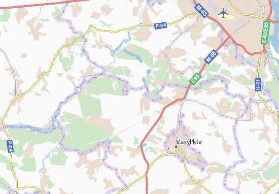 Carte-Plan Varovychi