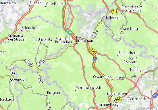 Oberleichtersbach Map