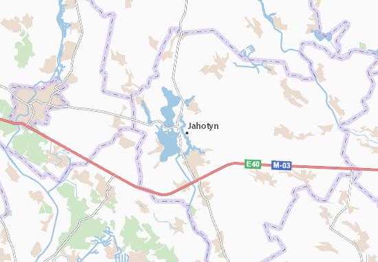 Mapa Plano Jahotyn