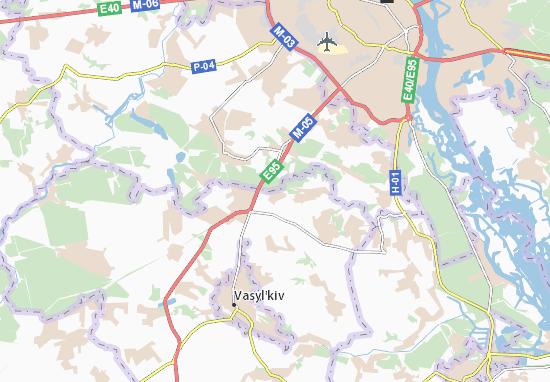 Carte-Plan Markhalivka
