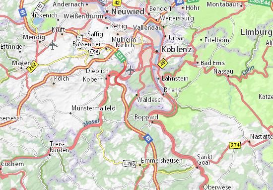 Waldesch Map