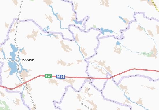 Carte-Plan Hodunivka