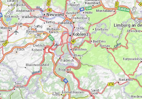 Lahnstein Map