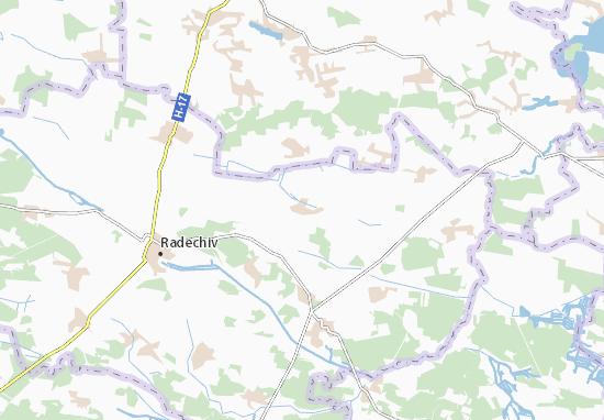 Mapas-Planos Kulykiv