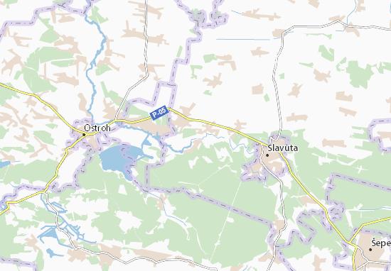 Polyan' Map