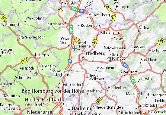 Carte-Plan Friedberg