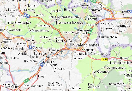 Kaart Plattegrond La Sentinelle