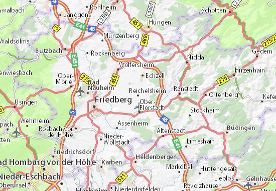 Carte-Plan Reichelsheim