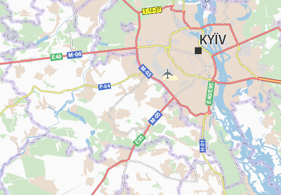 Carte-Plan Kryukivshchyna