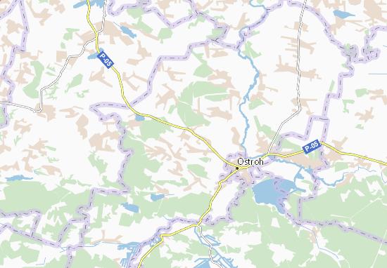 Mapas-Planos Hrem'yache
