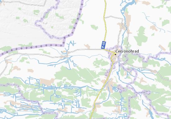 Mapa Plano Vaniv