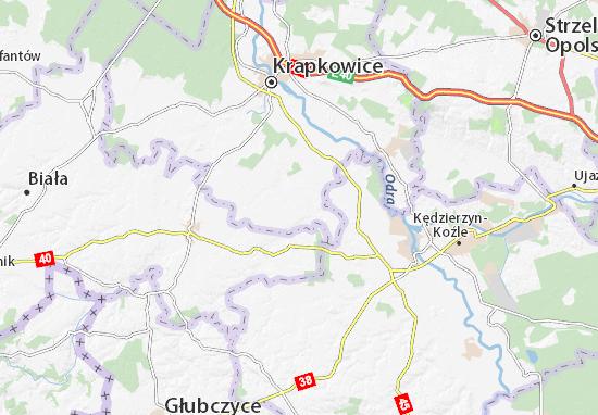 Mapa Walce