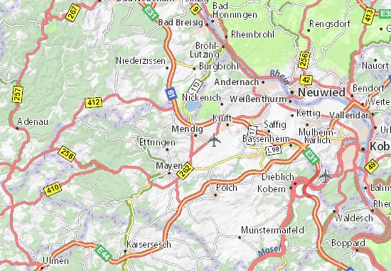 Mendig Map