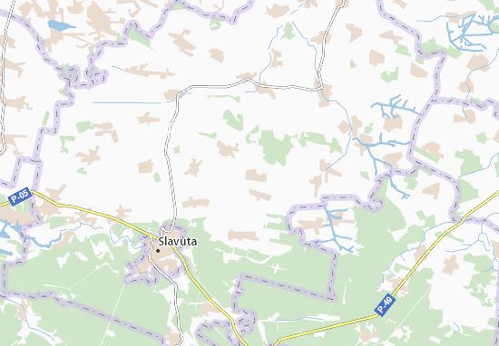 Mapa Plano Marachivka