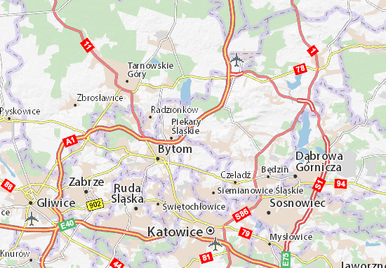 Karte Stadtplan Bobrowniki