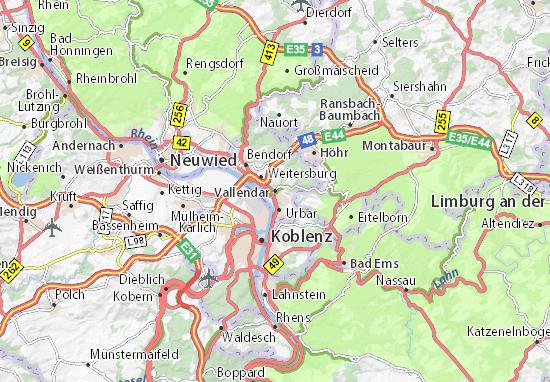 Vallendar Map