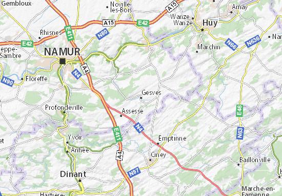 Mapas-Planos Gesves
