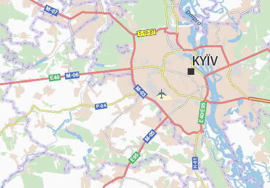 Sofiivs'ka Borshchahivka Map