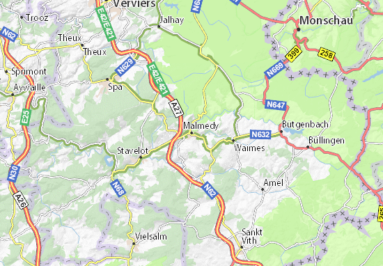 Malmedy Map