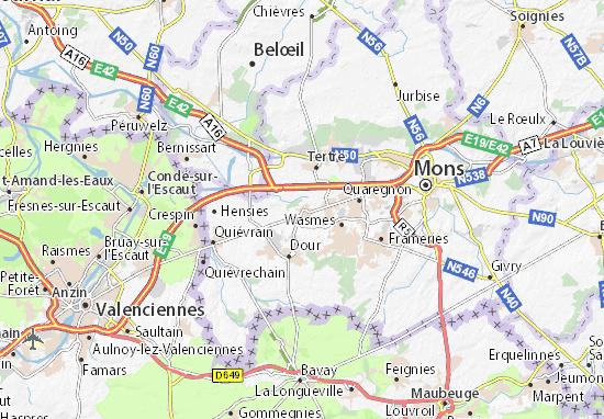 Mappe-Piantine Boussu