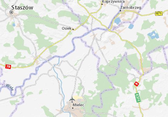 Mapa Padew Narodowa