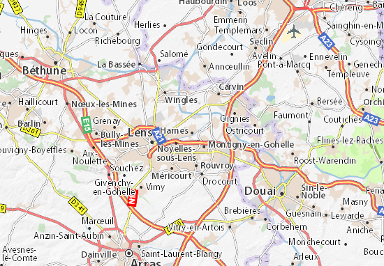 Mapas-Planos Harnes