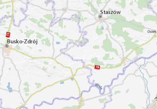 Carte-Plan Oleśnica