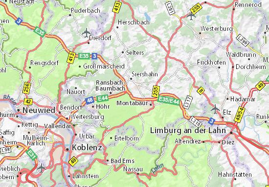 Dernbach Map