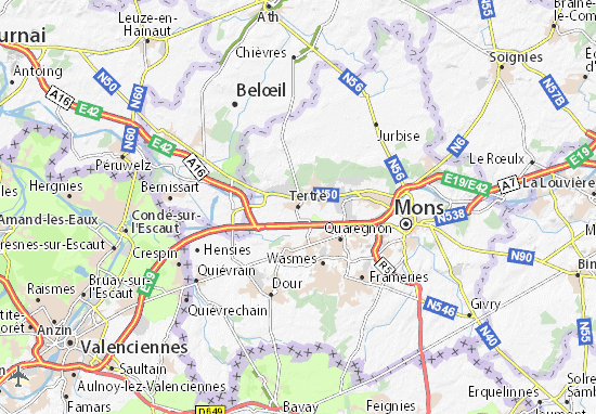 Tertre Map