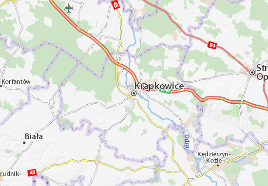 Carte-Plan Krapkowice