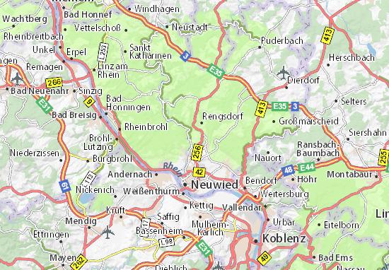 Carte-Plan Melsbach