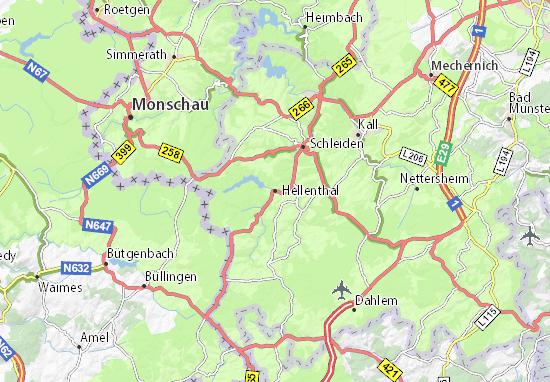 Hellenthal Map