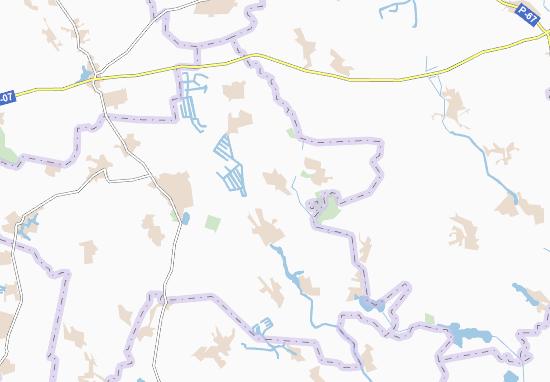 Mapas-Planos Paskivshchyna