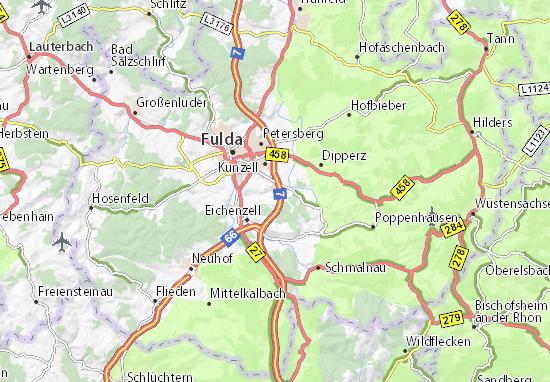 Pilgerzell Map