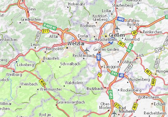 Carte-Plan Rechtenbach