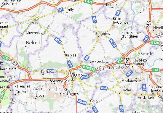 Carte-Plan Les Bruyères