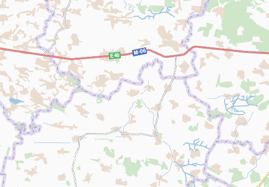 Carte-Plan Kylykyiv
