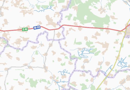 Mapas-Planos Koseniv