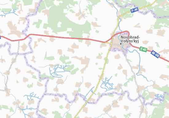 Mapa Plano Yarun'