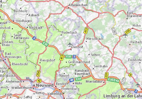 Dierdorf Map