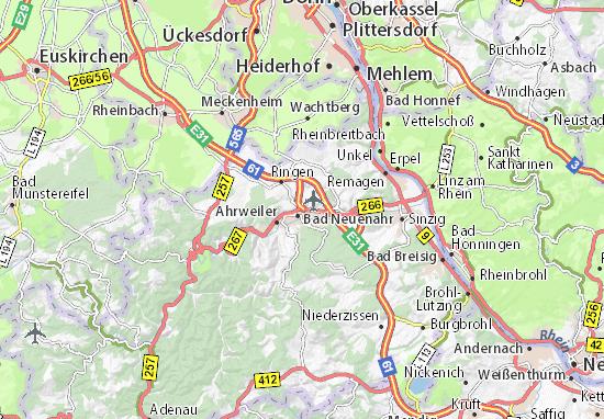 Bad Neuenahr-Ahrweiler Map
