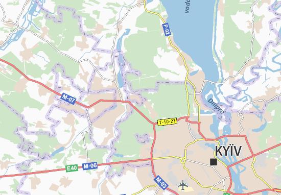 Carte-Plan Horenka