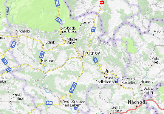 Mappe-Piantine Trutnov